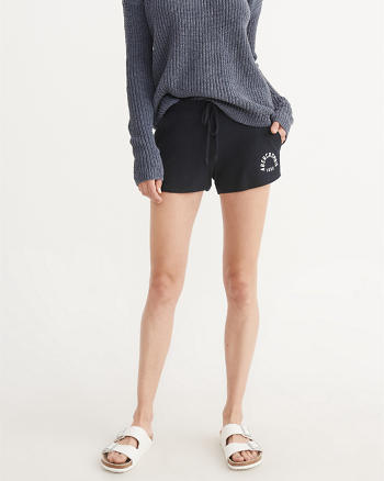 ANF Cozy Logo Shorts
