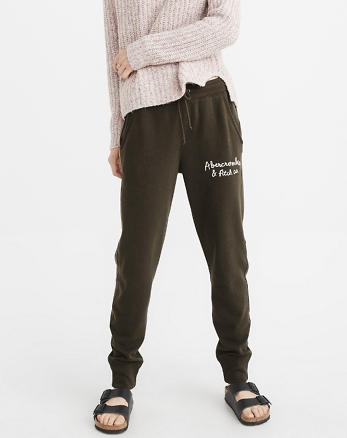 ANF Embroidered Logo Jogger