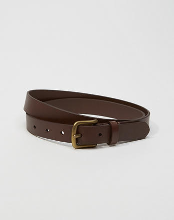 ANF 1-Inch Leather Belt