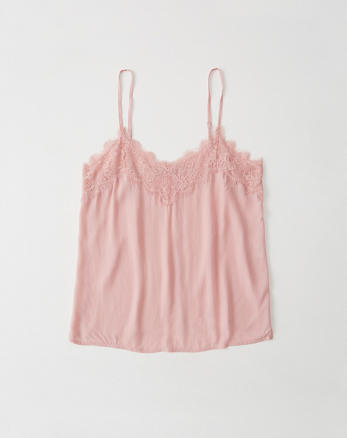 ANF Lace-Trim Cami