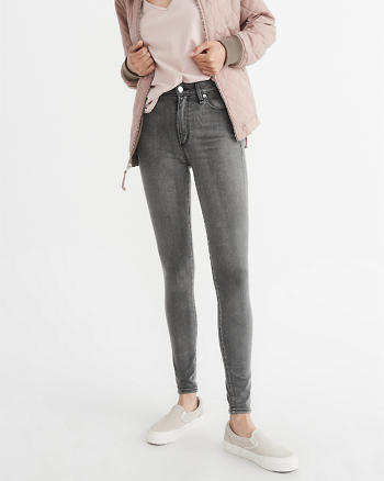 ANF Sculpt High-Rise Super Skinny Jeans