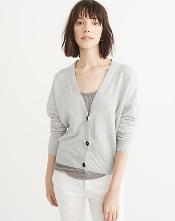 ANF Cropped Cardigan