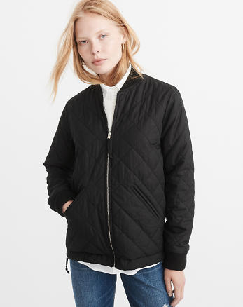 ANF Reversible Bomber Jacket