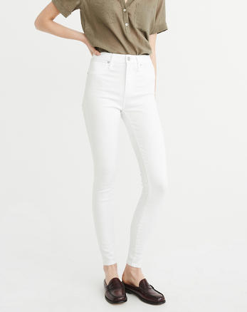 ANF High-Rise Super Skinny Jeans