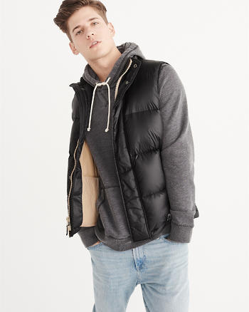 ANF Fleece-Lined Vest