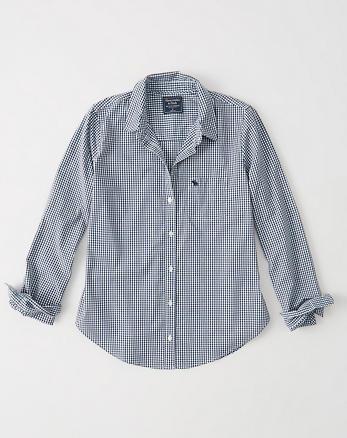 ANF Icon Poplin Shirt