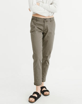 ANF Low-Rise Chino Pants
