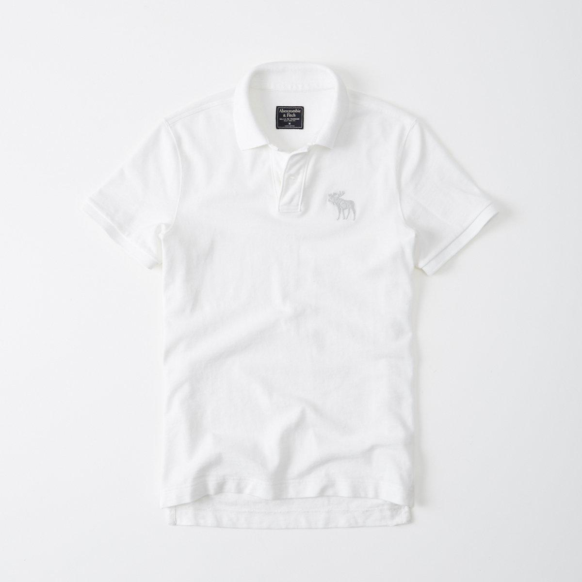Garment Dye Big Icon Polo
