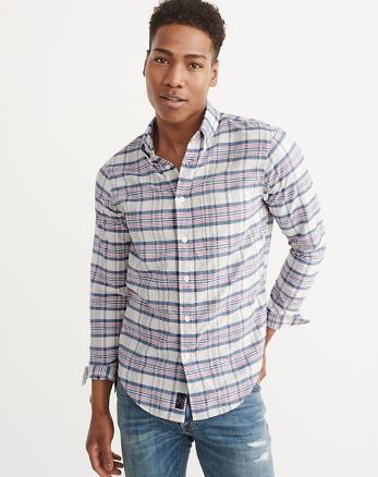 ANF Madras Shirt