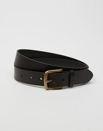 ANF 1 1/4-Inch Leather Belt