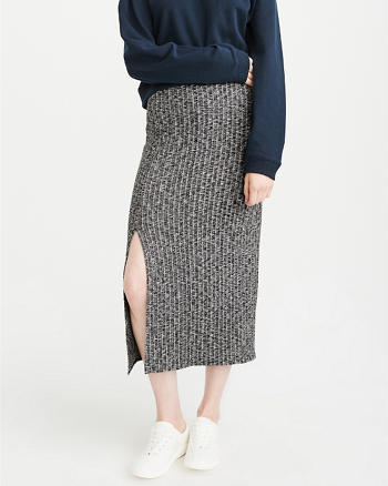 ANF Knit Midi Skirt