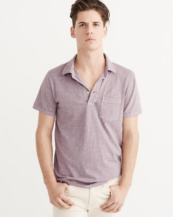 ANF Jersey Pocket Polo