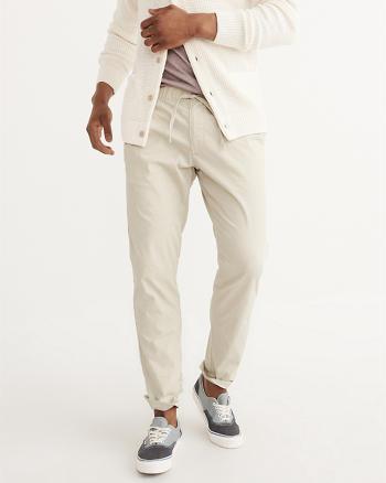 ANF Athletic Slim Tie-Waist Pants