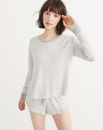 ANF Cozy Long-Sleeve Tee