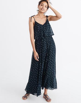 ANF Chiffon Maxi Dress