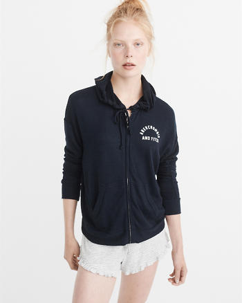 ANF Cozy Logo Zip-Up