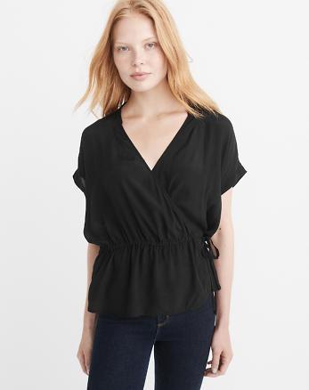 ANF Wrap Shirt