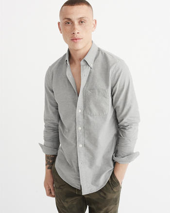 ANF Icon Oxford Shirt