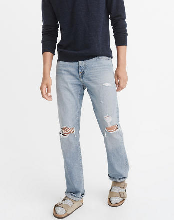 ANF Ripped Bootcut Jeans
