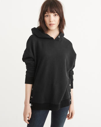 ANF Snap Button Hoodie