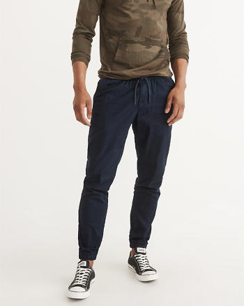 ANF Twill Joggers
