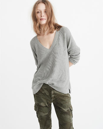 ANF V-Neck Sweater