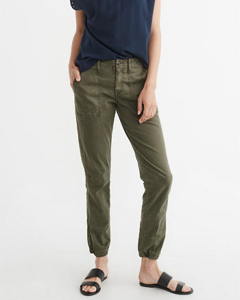 ANF Ankle Zip Pants