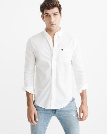 ANF Icon Poplin Shirt