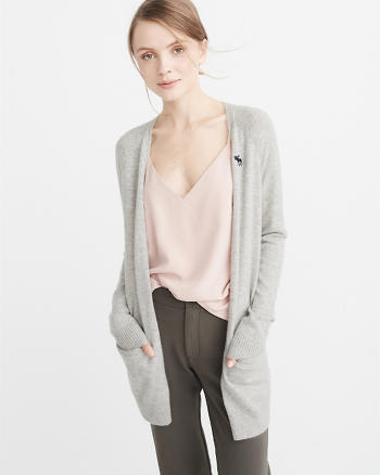 ANF Icon Cashmere Cardigan