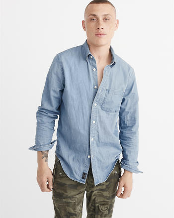 ANF Denim Shirt