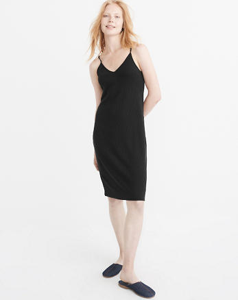 ANF Ribbed Midi Dress