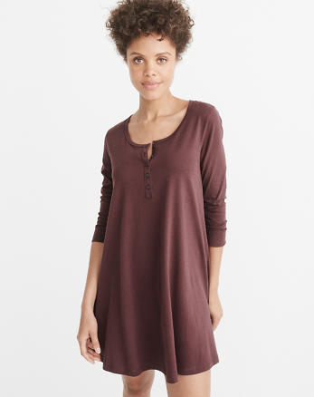 ANF Henley Dress