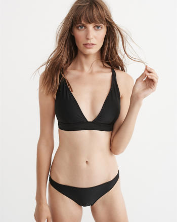 ANF Wide Strap Triangle Top