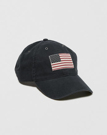 ANF USA Flag Hat