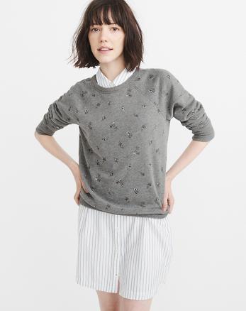 ANF Patterned Sweatshirt