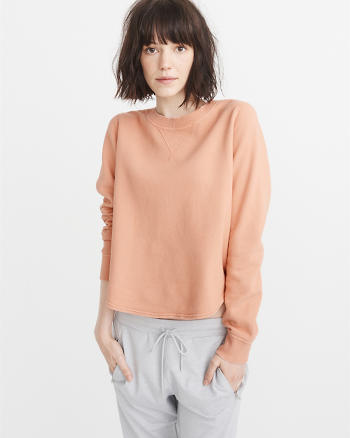 ANF Scoop Hem Sweatshirt