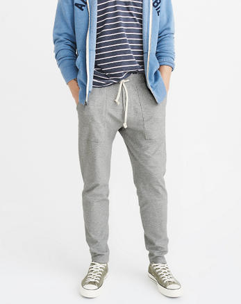 ANF Tapered Lounge Pants