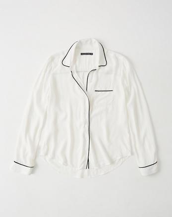 ANF Pajama Shirt