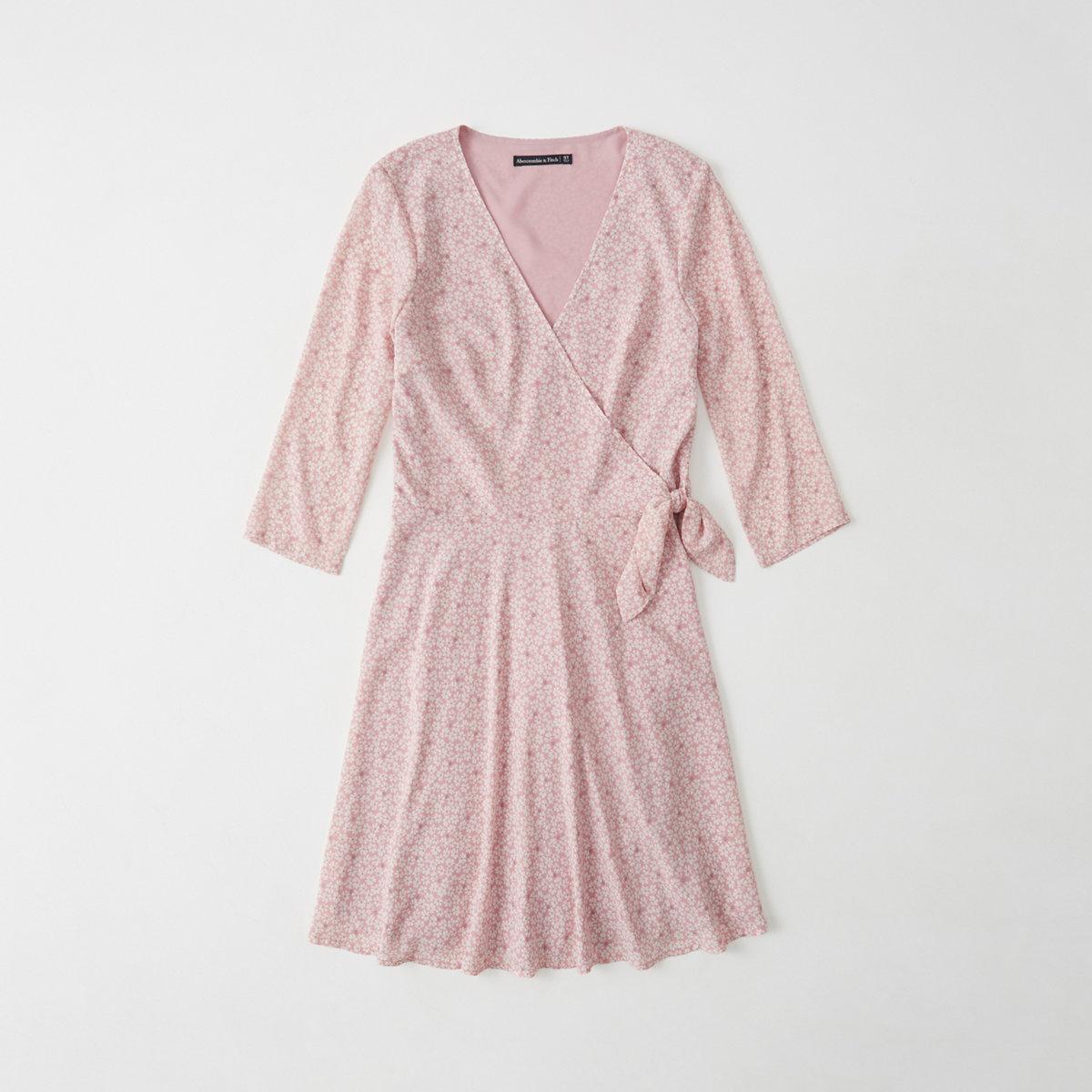 Chiffon Wrap Dress