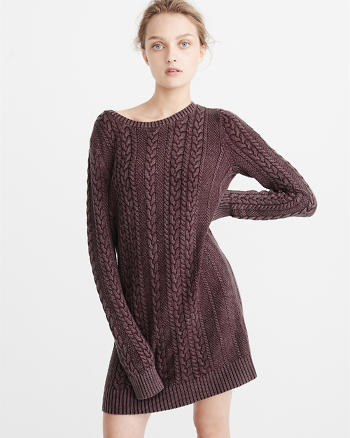 ANF Garment Dye Sweater Dress