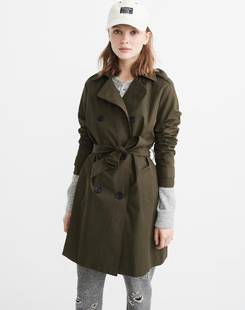 ANF Classic Trench Coat