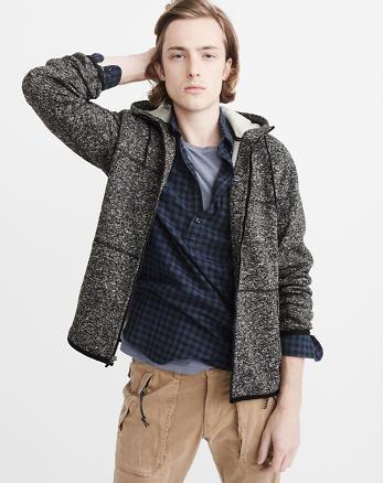 ANF Sport Sweater Fleece Jacket