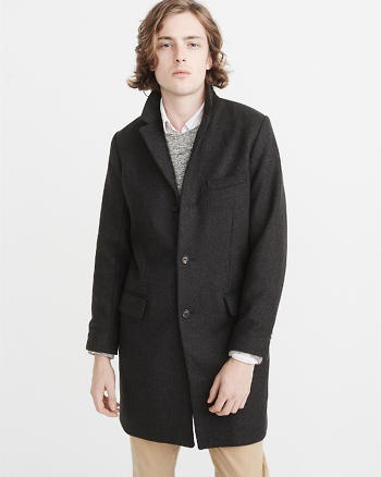 ANF Italian Wool Topcoat