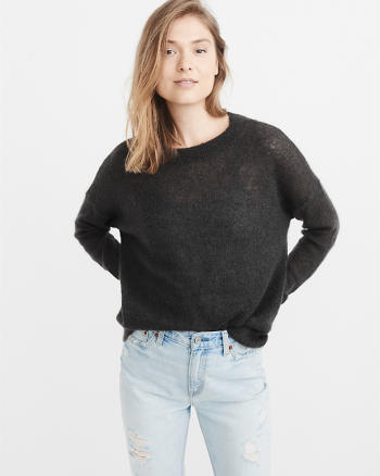 ANF Mohair-Blend Sweater