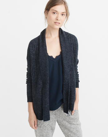 ANF Open-Front Sweater