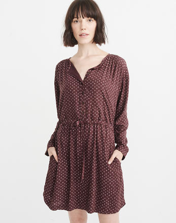 ANF Lightweight Shirtdress