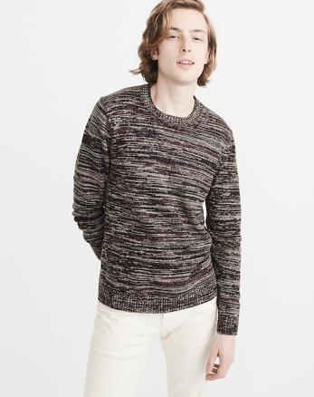 ANF Space Dye Crew Sweater