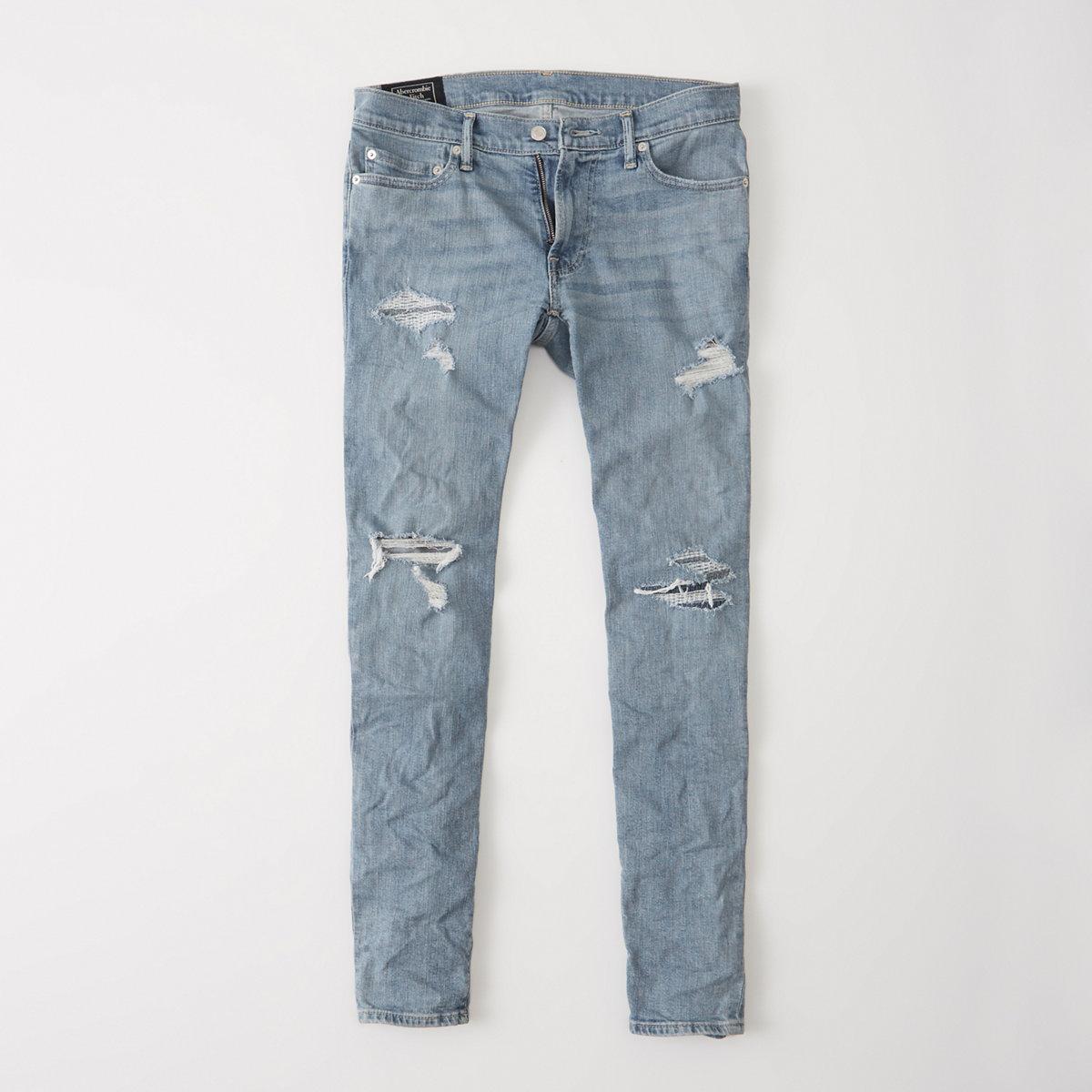 Ripped Super Slim Jeans