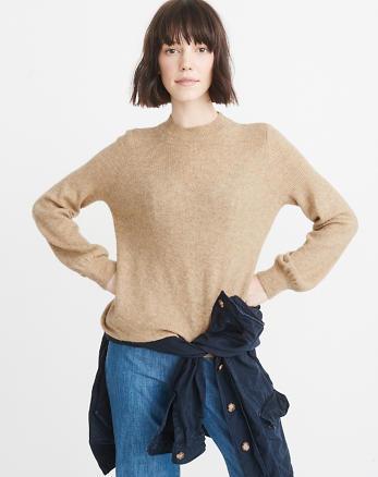ANF Puff Sleeve Sweater