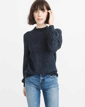 ANF Puff Sleeve Sweater